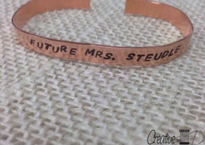 Future Mrs. Steudle bracelet